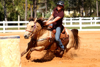 Barrel Racing Sunday Nicole Hornstein