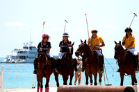 Chix with Stix..Women's Polo Miami Beach 2014